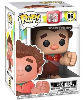 Funko Pop Ralph Wifi 06 Orig Wreck It Ralph 2 Disney Scarlet