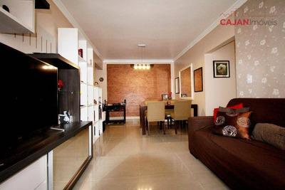 Apartamento De 2 Dormitórios Com Vaga De Garagem No Bairro Cristal - Ap3010