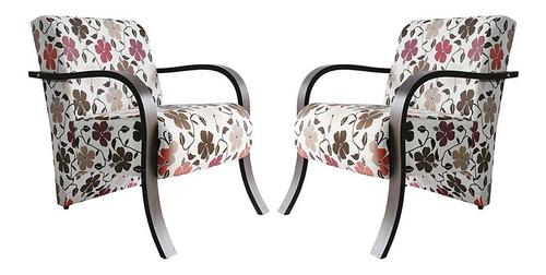 Imagem 1 de 3 de Kit Duas Poltronas Cadeira Decorativa Sala, Recepção