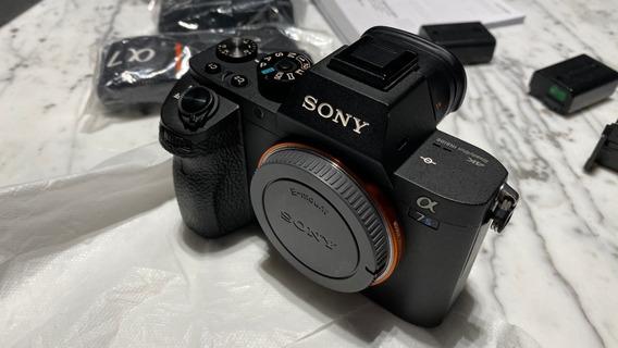 Câmera Sony Alpha A7s Ii 4k Wifi Fullframe - Seminova