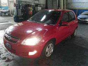 Chevrolet Celta Motor 1.4 2013 Rojo 5 Puertas