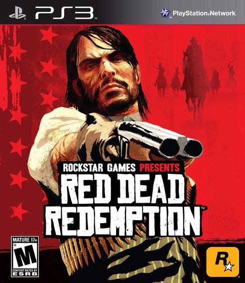 Red Dead Redemption Ps3 - Mídia Física   Garantia Playgorila