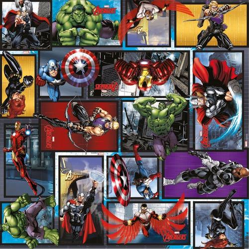 Imagem 1 de 2 de Saco P/presente Os Vingadores Heroes Marvel  30x44 40unid.