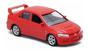 Miniatura Mitsubishi Lancer Evolution1:60 Welly Lacrado !!!