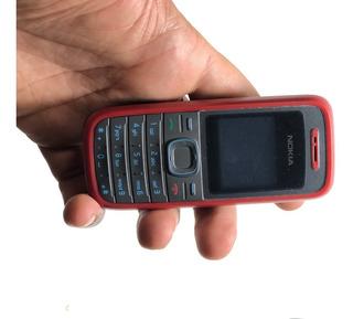 Celular Roça Trabalho Nokia 1208,2g Vermelho Desbloqueado