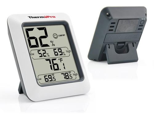 Monitor De Humedad Interior Thermopro Higrómetro Termómetro