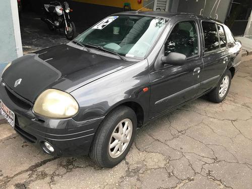 Imagem 1 de 9 de Renault Clio 2002 1.0 16v Rt 5p  11.900,00