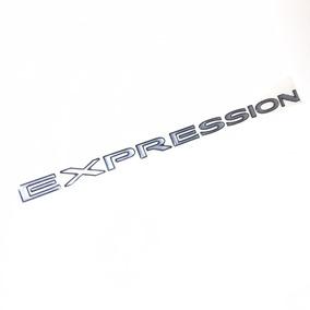 Adesivo Emblema Expression Porta Meriva Gm 94732696 Novo