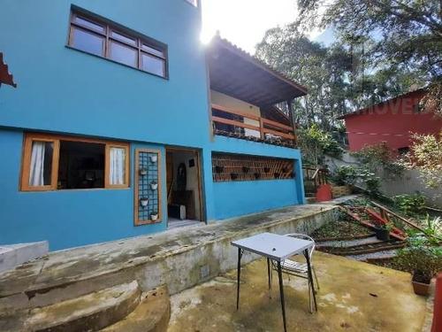 Imagem 1 de 15 de Cod 5737 - Chacara Maravilhosa Em Cotia!! Casa Com Vista Des - 5737
