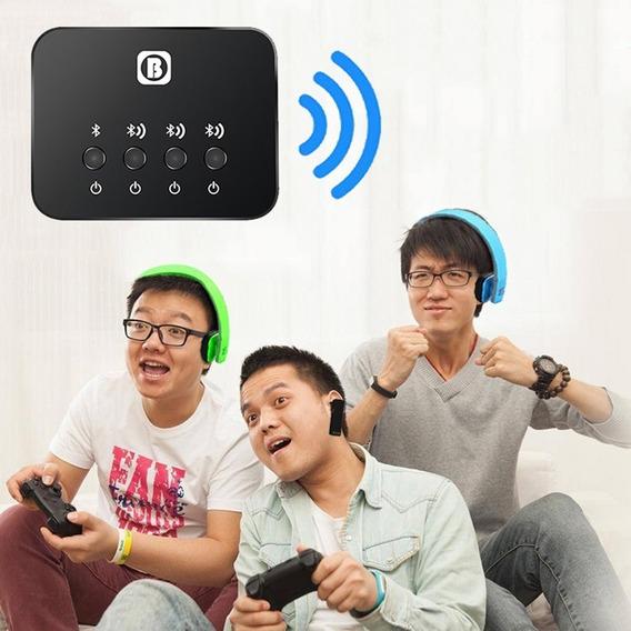 Transmissor Bluetooth Multi-ponto P2 Para 03 Fones Cod-04