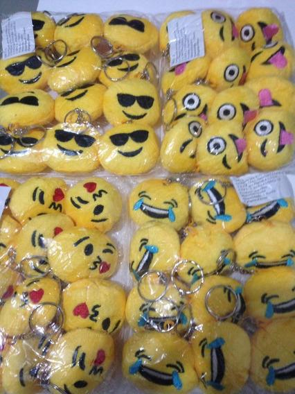 Kit 48 Chaveiros Emoji Whatsapp