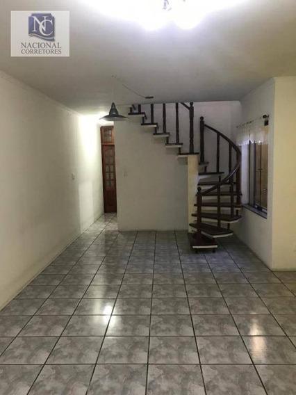 Sobrado Para Alugar, 200 M² Por R$ 3.000,00/mês - Santa Teresinha - Santo André/sp - So3547