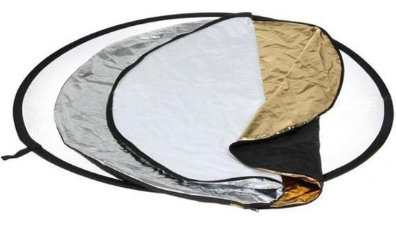 Rebatedor Circular 5 Em 1 - 110cm + Bolsa Com Nf
