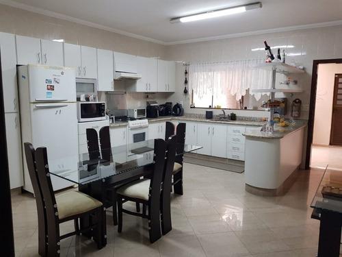 Imagem 1 de 16 de Sobrado Com 3 Dormitórios À Venda, 250 M² Por R$ 900.000,00 - Vila Camilópolis - Santo André/sp - So1614