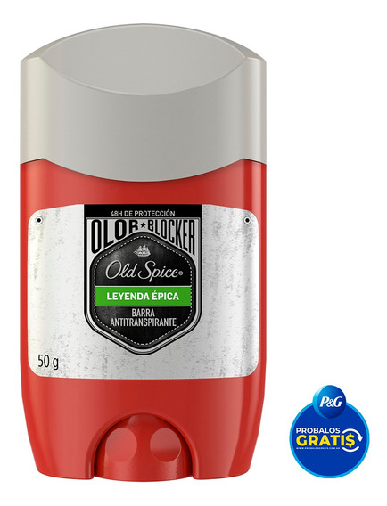 Desodorantes Old Spice Leyenda En Barra 50g - Pack X3
