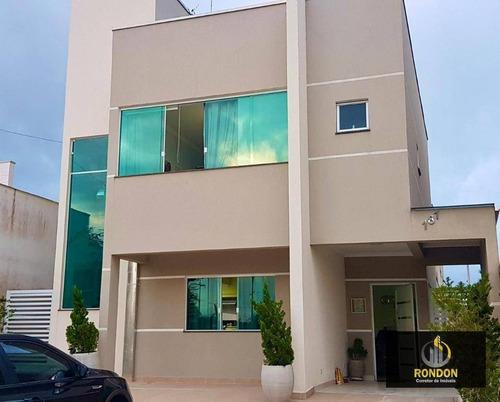 Casa Com 4 Dormitórios À Venda, 175 M² Por R$ 800.000 - Jardim Guacyra - Itanhaém/sp - Ca1423