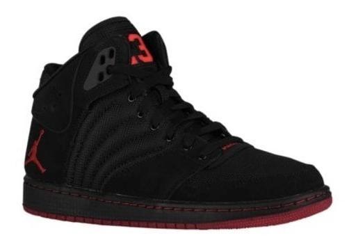 Zapatillas Jordan 1 Flight 4 Total Negra Roja