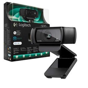 Webcam C920 Hd Pro 1080p Logitech Video Conferência Youtuber