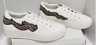 Zapatos Zapatillas Tacones Tenis Steve Madden Bertied Blanco
