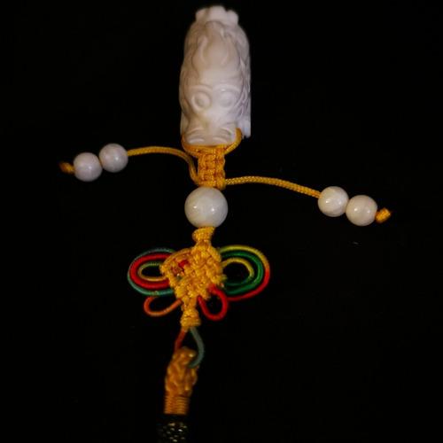 Imagen 1 de 7 de Charm Jade Dragon Feng Shui, Buena Suerte.