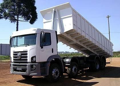 Vw 24280 Bitruck Caçamba Basculante 0km