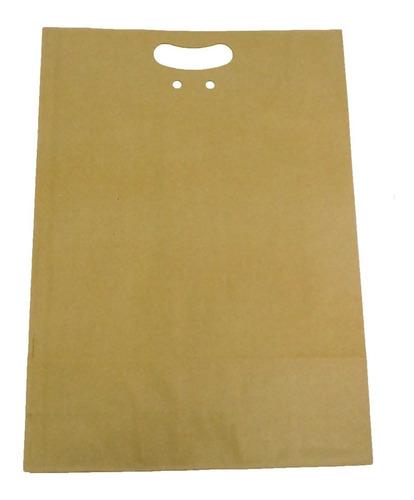 Sacola Kraft Resistente Para Presente - 45 X 33 Cm - 10 Unid