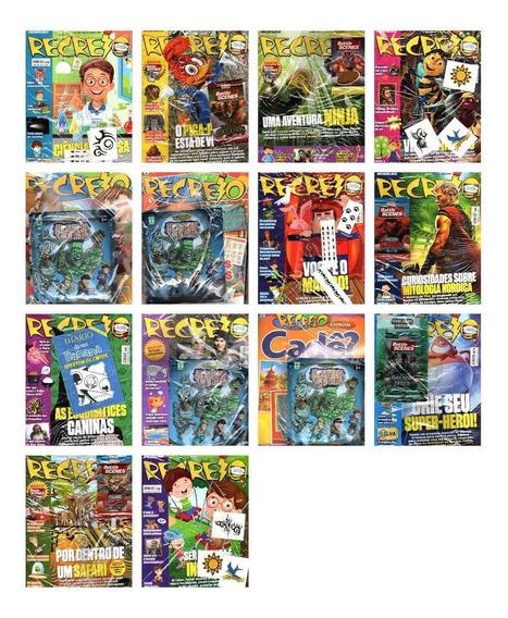 Kit 7 Revistas Recreio Lacrada Com Brinde