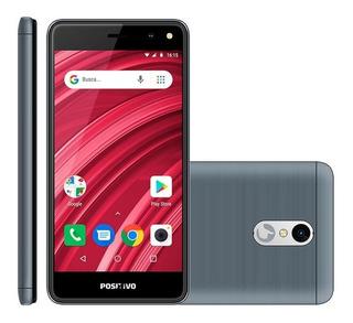Smartphone Positivo S509 Twist 2 Fit Cinza - Dual Chip