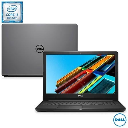 Notebook Dell, Intel® Core I5-8250u, 8gb, Tela 15,6 - Hd Ssd