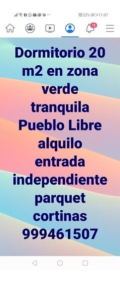 Rento Lindo Dormitorio En Pueblo Libre