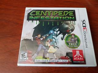 Centipede 3ds Nintendo Nuevo Sellado