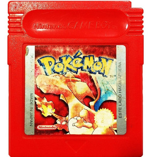 Pokemon Roja Red En Español - Nintendo Gameboy Gbc & Gba