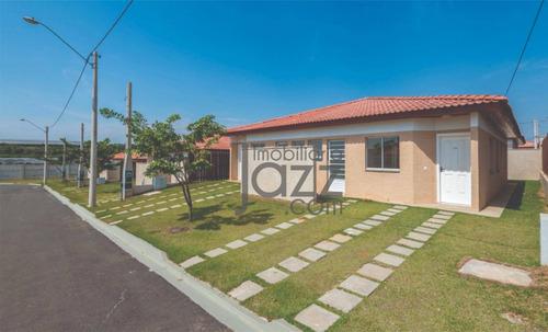 Novíssima Casa Em Condomínio Viva Vista À Venda, 54 M² Por R$ 280.000 - Altos De Rebouças - Sumaré/sp - Ca5783