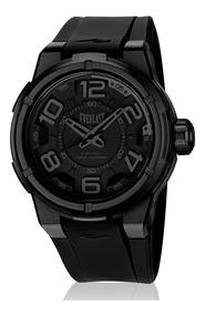 Relógio Everlast Masculino Torque E683 Caixa Abs E Pulseira