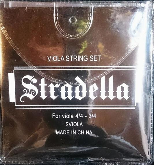 Encordado Para Viola 3/4 - 4/4 Stradella