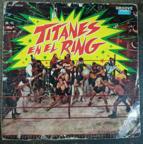 Titanes En El Ring * Martin Karadagian * Rca 80024 * Lp *