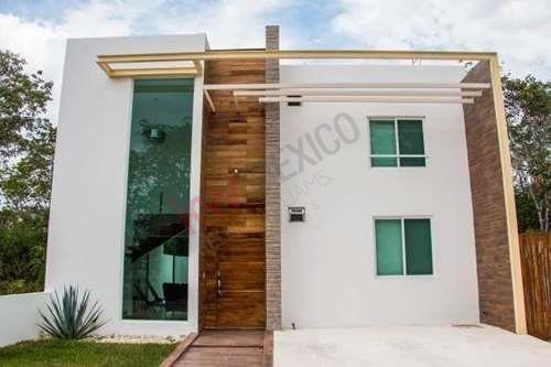 Disfruta De Esta Casa Nueva A 5 Min De Centro Maya Y A 10 Min De La Playa En Bosque Bambu , Playa Del Carmen