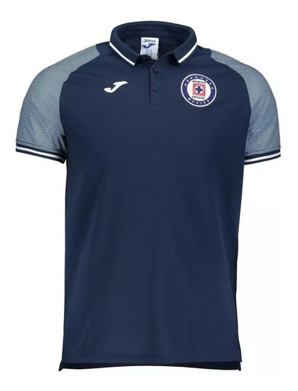 Polo Joma Cruz Azul 2019-2020 Original Azul