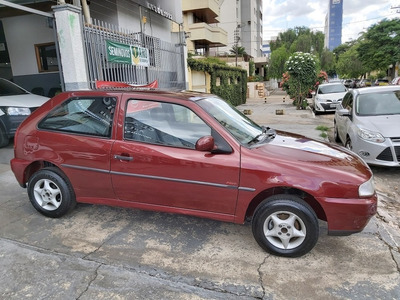 Vw / Gol 1.0 Mi Plus Relíquia Carro Extra !