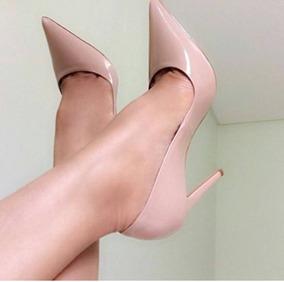 09b0ba0dd Linda Sapato Scarpin Rosa Claro Feminino - Sapatos com o Melhores ...
