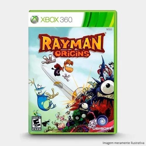 Jogo Rayman Origins Xbox 360 Mídia Física Lacrado Original