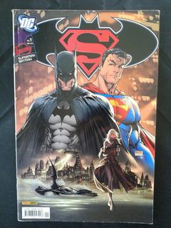 Hq Superman Batman N ° 1 Julho 2005 Dc Comics
