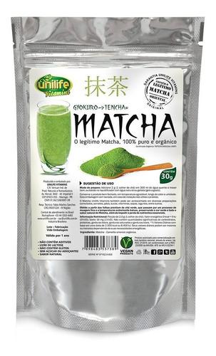 Matcha Legítimo Premium 100% Puro Original Chá Em Pó
