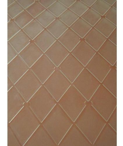 Placa Para Textura - Embossing Folder Losangos Tam A4
