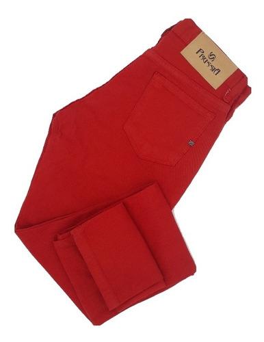 Pantalon Mujer Gabardina Semi Elastizada Prussia Pr3157