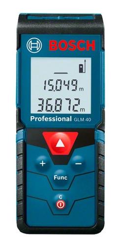 Medidor Láser De Distancias Bosch Glm 40 Professional