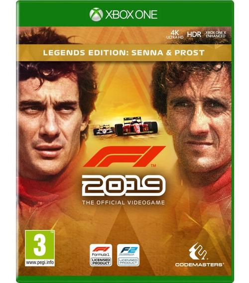 Formula 1 2019 Xbox One Mídia Digital + 1 Jogo Grátis