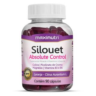 Termogenico Silouet Absolute Control Maxinutri 90 Cápsulas