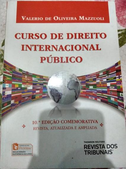 Curso De Direito Internacional Público - Mazzuoli - 2016