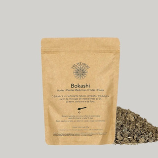 Fertilizante Orgânico Bokashi Sólido 250 Gramas Yes We Grow